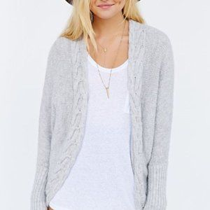 Urban Outfitters Chunky Open Cardigan